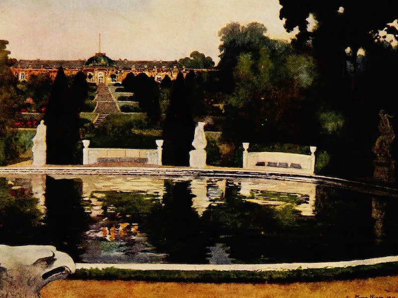 Royal Palaces and Gardens - The Palace, Sans Souci (1916)