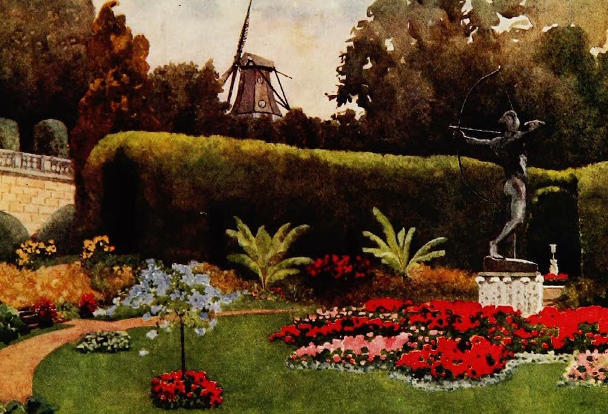 Royal Palaces and Gardens - The Mill, Sans Souci (1916)