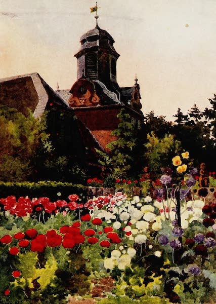 Royal Palaces and Gardens - The Clock Tower, Wolfsgarten (1916)
