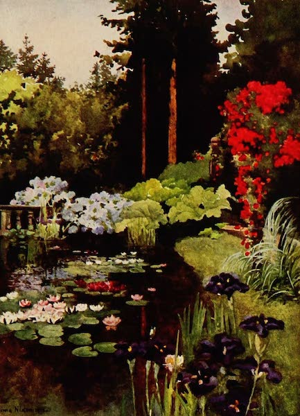 Royal Palaces and Gardens - The Pond, Wolfsgarten (1916)