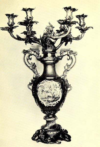 Royal Sèvres China - Mounted Vase as Candelabrum (1909)