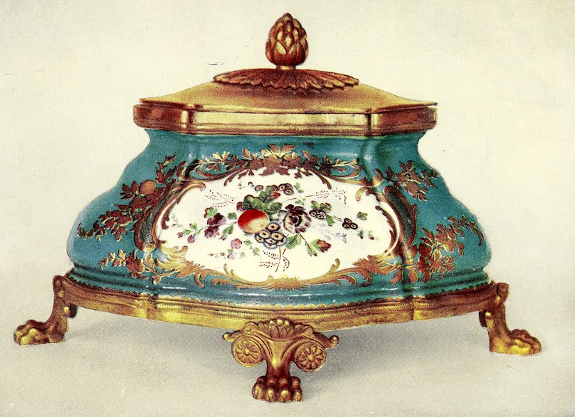 Royal Sèvres China - Inkstand of Turquoise-Blue and Ormolu (1909)