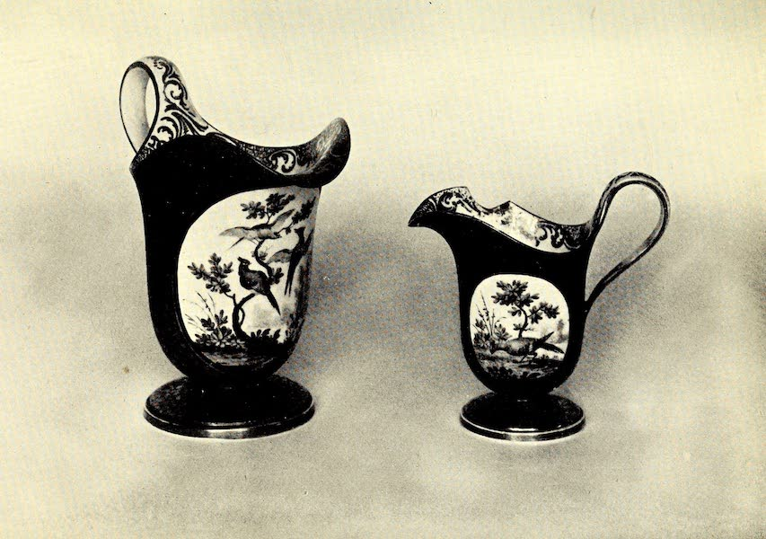 Royal Sèvres China - Two Cream-Jugs (1909)