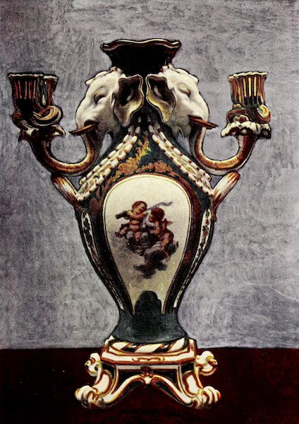 Royal Sèvres China - Candelabrum of Four Lights (1909)