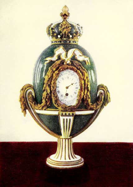 Royal Sèvres China - The Crowned Clock (1909)