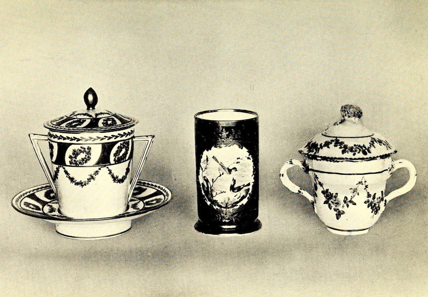 Royal Sèvres China - Two Ecuelles and Vase (1909)