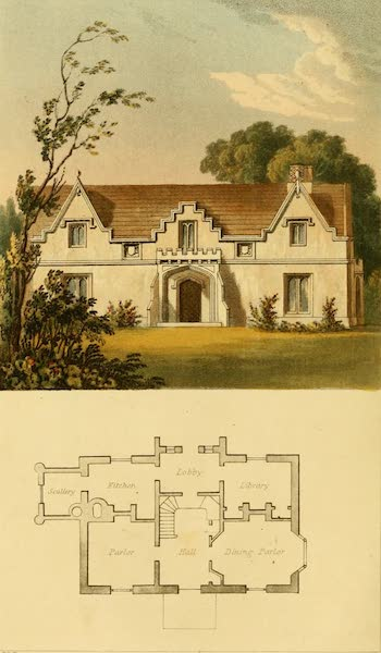 Rural Residences - A Gothic Cottage (1818)