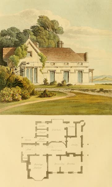Rural Residences - A Vicarage House (1818)