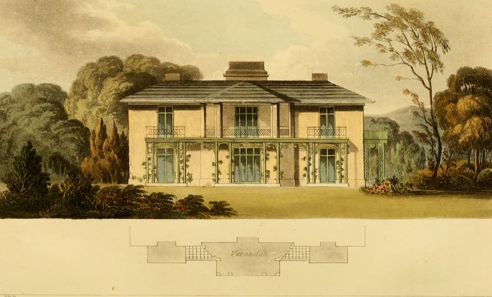 Rural Residences - A Cottage Orne [III] (1818)