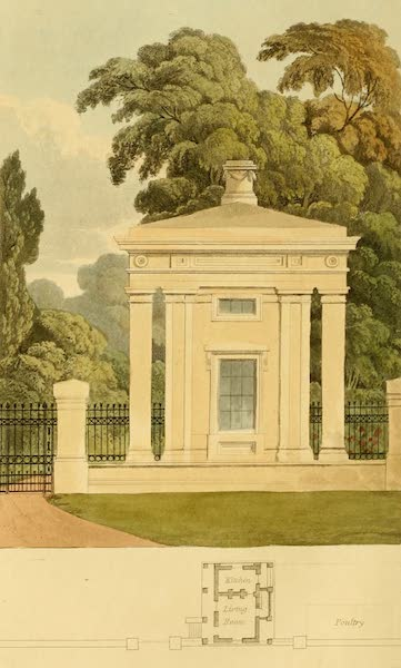 Rural Residences - Park Lodge and Entrance (1818)