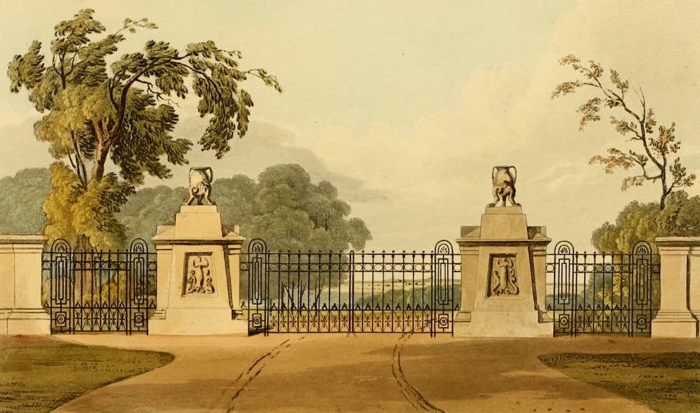 Rural Residences - A Park Entrance (1818)