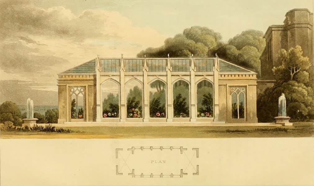 Rural Residences - A Gothic Conservatory (1818)