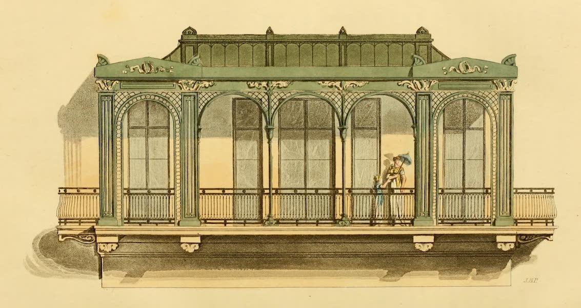 Rural Residences - A Verandah (1818)