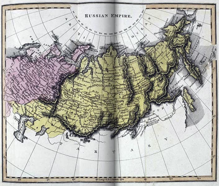 Russia: Being a Complete Picture of that Empire - Russian Empire [Map] (1817)