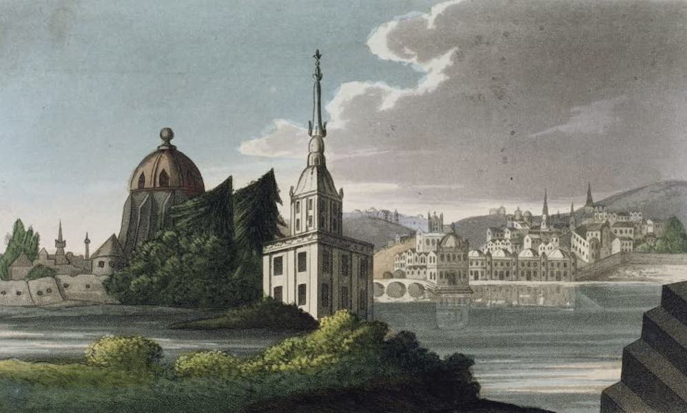 Russia: Being a Complete Picture of that Empire - View of Moscow before the Conflagration (1817)