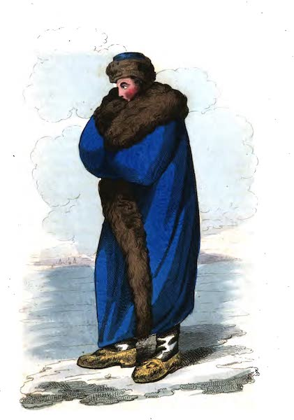 Russia: Being a Complete Picture of that Empire - Winter Walking Dress (1817)