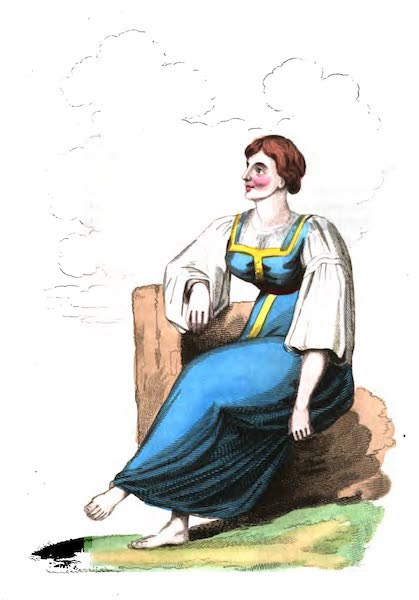 Russia: Being a Complete Picture of that Empire - Peasants Wife (1817)