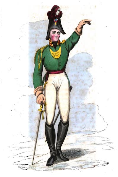 Russia: Being a Complete Picture of that Empire - Officer of Imperial Guards (1817)