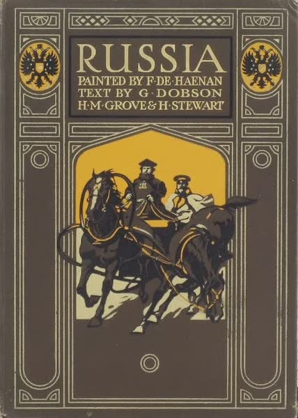 Russia, Painted and Described - Front Cover (1913)