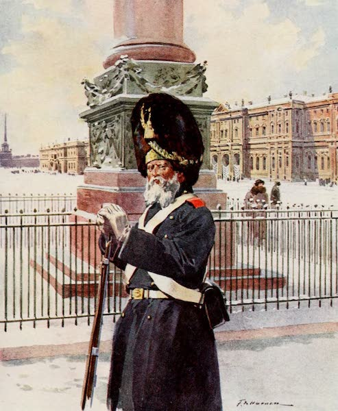 Russia, Painted and Described - One of the Palace Grenadiers (1913)