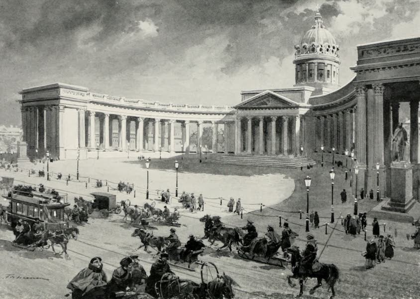 Russia, Painted and Described - Kazan Cathedral (1913)