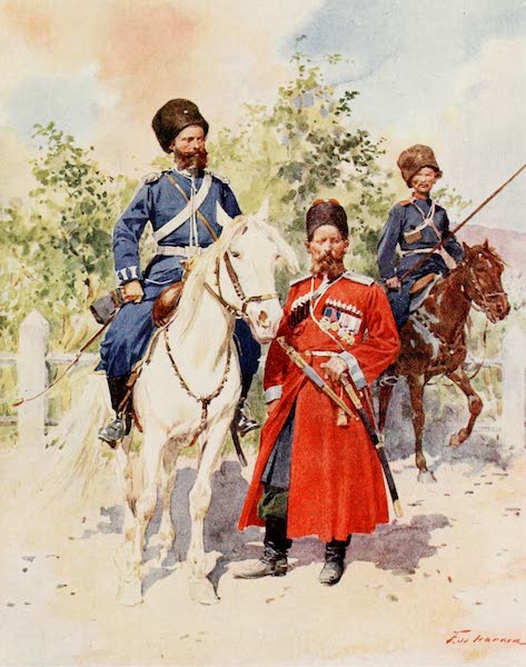Russia, Painted and Described - Cossacks of the Guard and Imperial Bodyguard (1913)