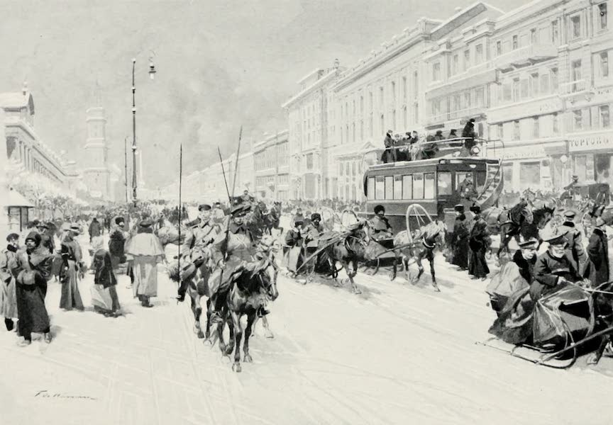 Russia, Painted and Described - Nevsky Prospect (1913)