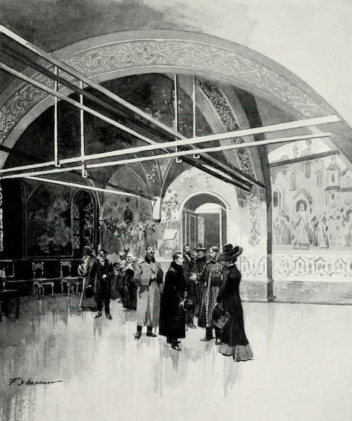 Russia, Painted and Described - The Small Golden Palata, or Tsaritsa's Hall, in the Kremlin (1913)