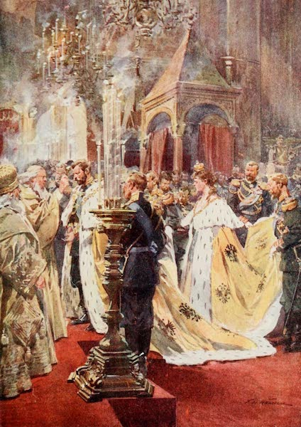 Russia, Painted and Described - The Coronation of the Emperor (1913)