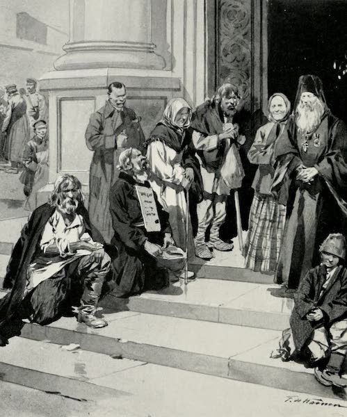 Russia, Painted and Described - Beggars (1913)