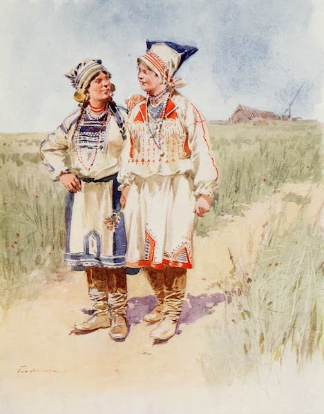 Russia, Painted and Described - Peasants (1913)