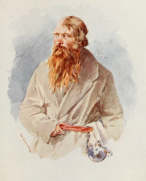Russia, Painted and Described - Siberian Convict (1913)