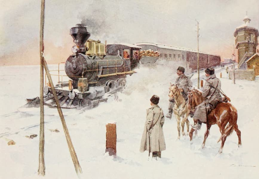 Russia, Painted and Described - The Trans-Siberian Railway (1913)