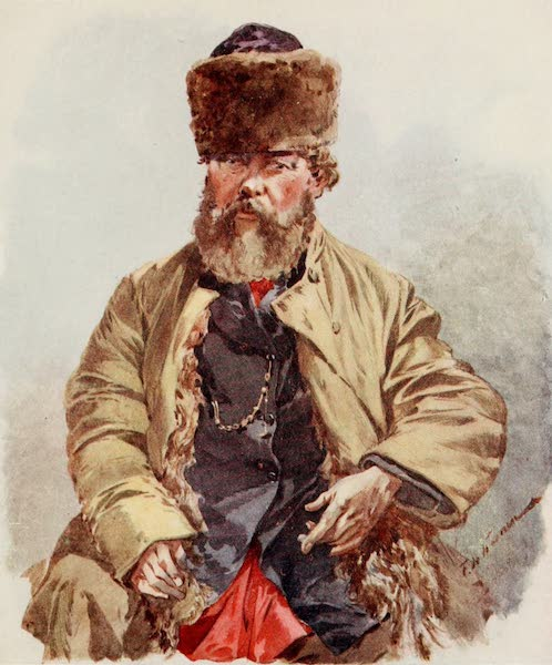 Russia, Painted and Described - A Country Mayor of the Toula District (1913)