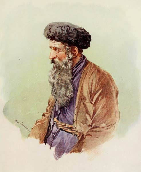 Russia, Painted and Described - A Polish Jew (1913)