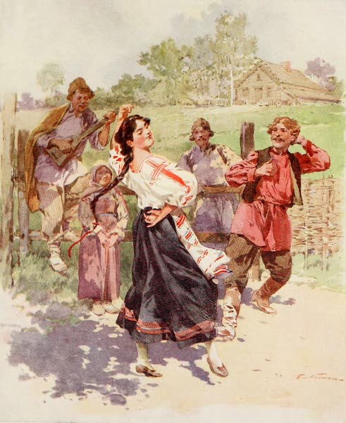Russia, Painted and Described - A Dance in Little Russia (1913)