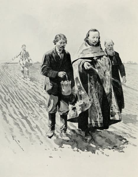 Russia, Painted and Described - Blessing the Ground before Sowing : Little Russia (1913)