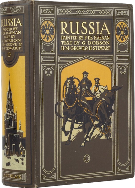 Russia, Painted and Described - Book Display I (1913)