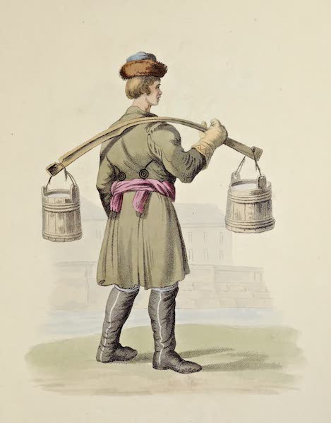 Russian Cries - Water Carrier (1809)