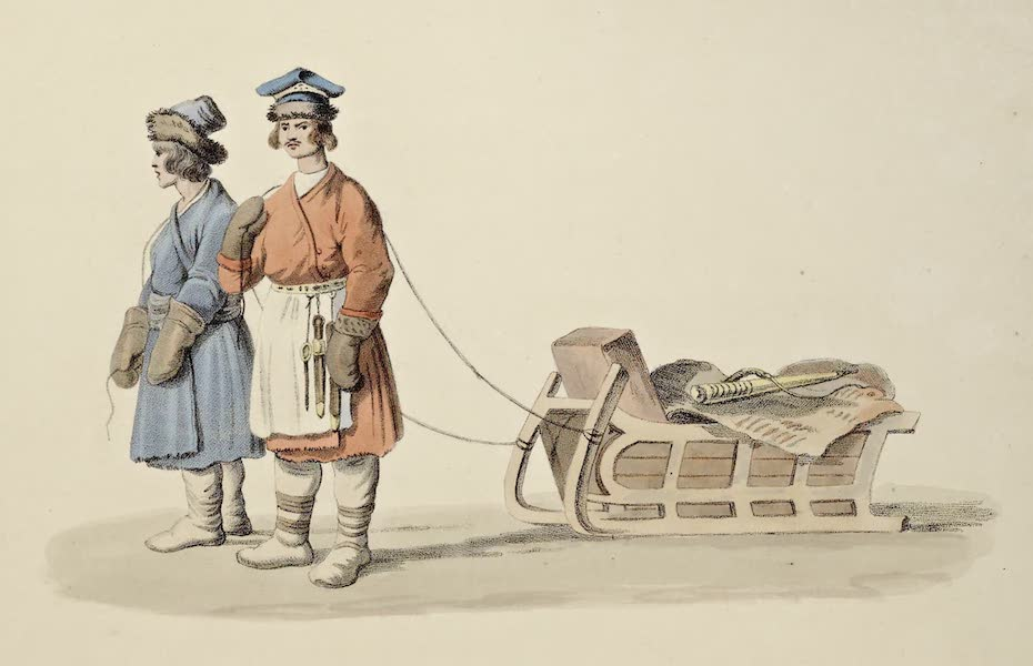 Russian Cries - Miasnick or Butcher's Meat (1809)