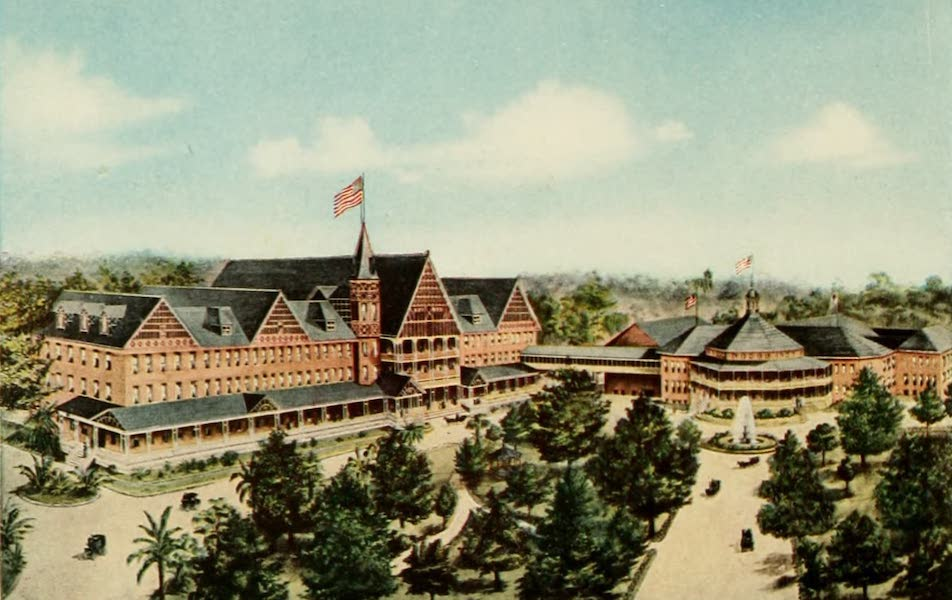 San Antonio, A Descriptive View Book in Colors - The Hot Wells Hotel and Bath House (1913)