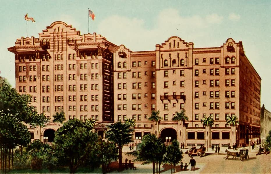 San Antonio, A Descriptive View Book in Colors - St. Anthony Hotel (1913)