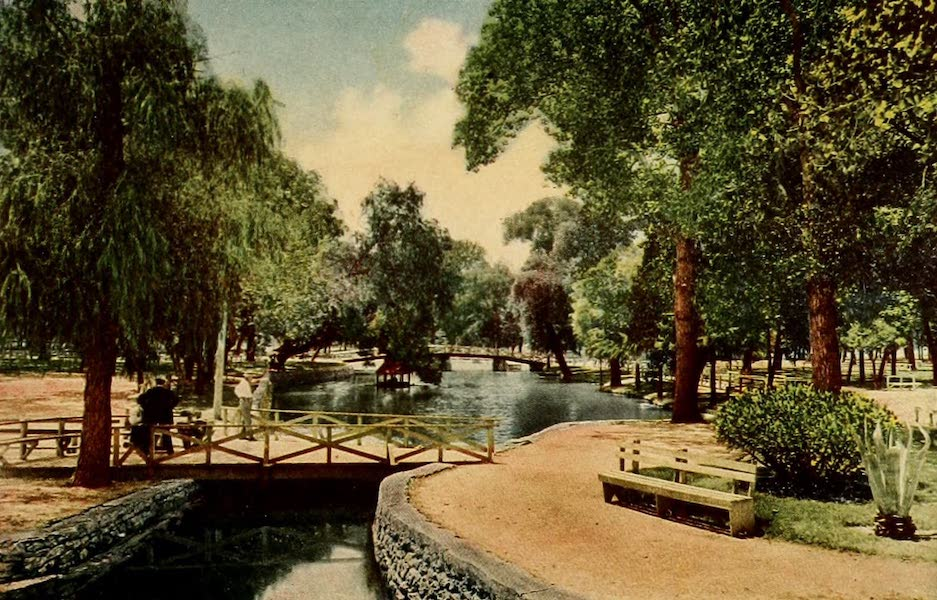 San Antonio, A Descriptive View Book in Colors - San Pedro Park (1913)