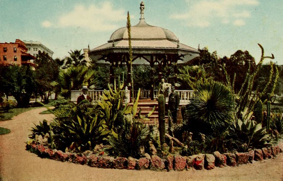 San Antonio, A Descriptive View Book in Colors - The Alamo Plaza [II] (1913)