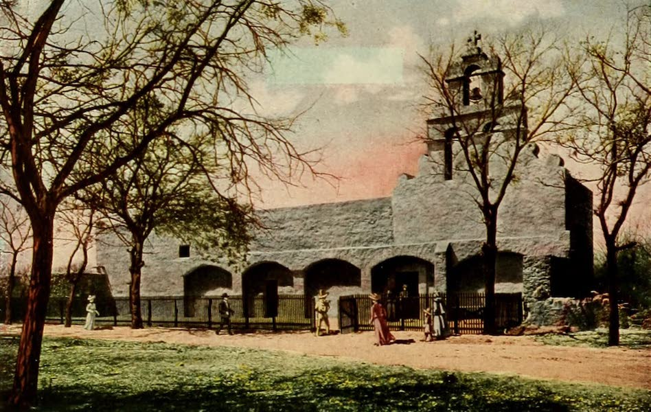San Antonio, A Descriptive View Book in Colors - Mission San Juan de Capistrano (1913)