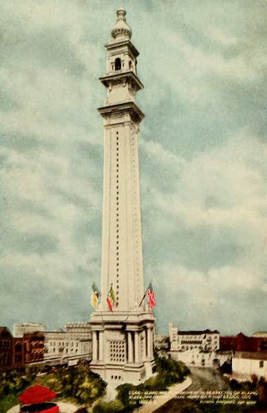 San Antonio, A Descriptive View Book in Colors - Proposed Monument to be Erected in Honor of the Heroes of the Alamo (1913)