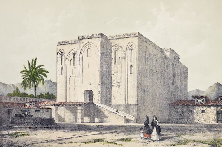 Saracenic and Norman Remains - The Palace of La Cuba, Palermo. (1840)