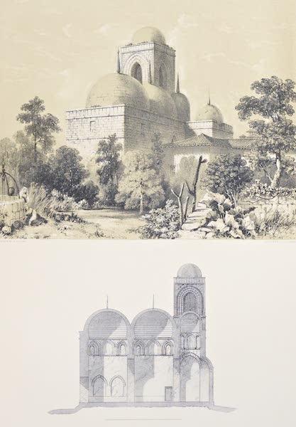 Saracenic and Norman Remains - San Giovanni Degli Eremipi, Palermo. (1840)