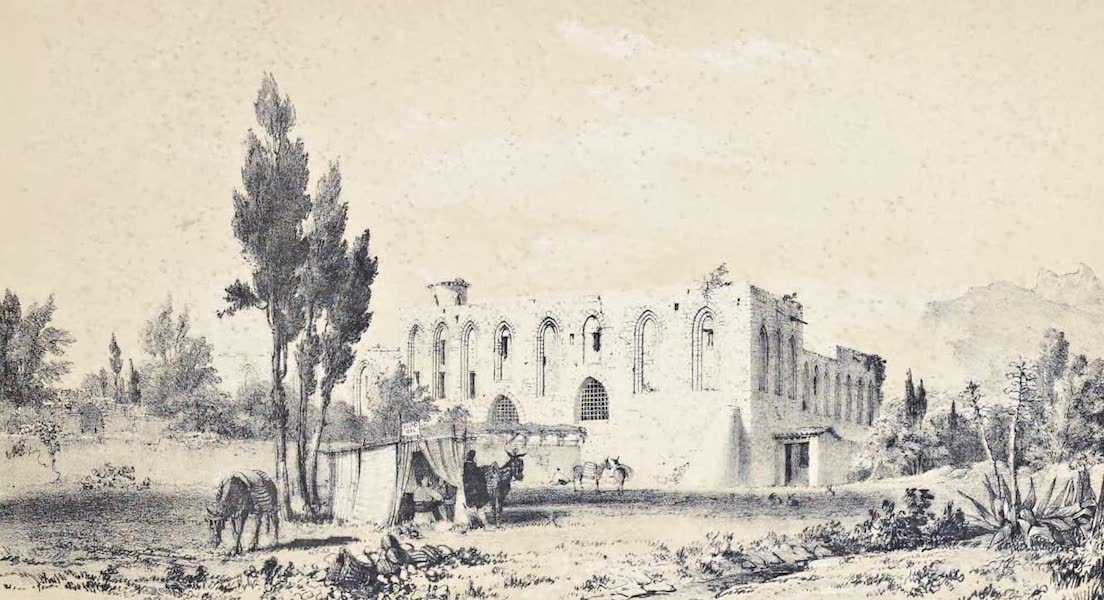 Saracenic and Norman Remains - 1. the Ruins of La Favara. (1840)