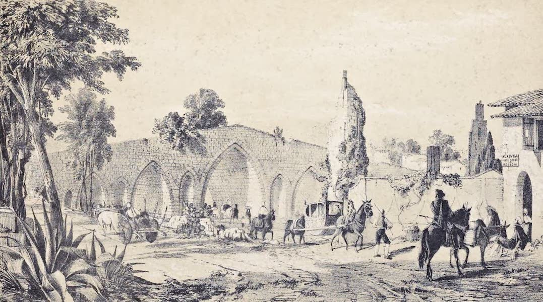 Saracenic and Norman Remains - 2. the Ponte Del Ammiraglio. (1840)